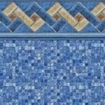 toile de piscine creusée mountain top