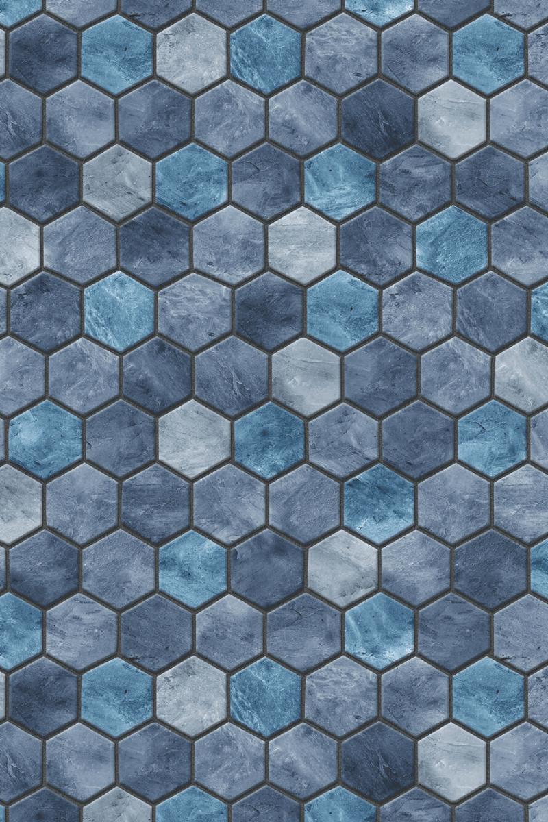 toile de piscine-tuiles-bleues-tarvertine-concept_piscine_design