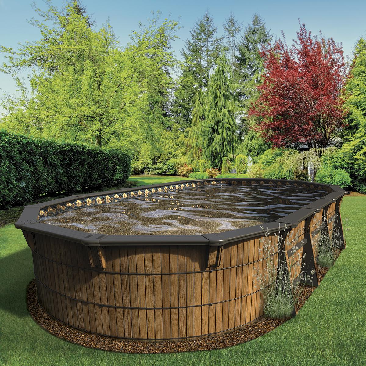 Piscine hors terre savanna concept piscine design for Piscine design concept