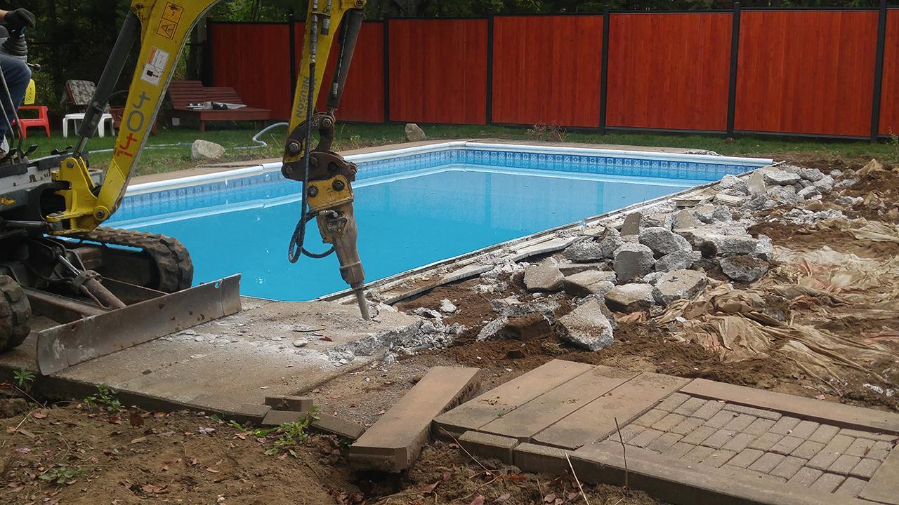 R paration et r novation de piscines creus es concept for Piscine design concept