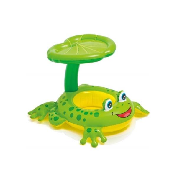 Siège gonflable grenouille pour bébé