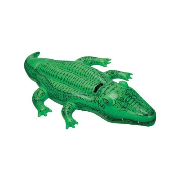 Alligator géant gonflable
