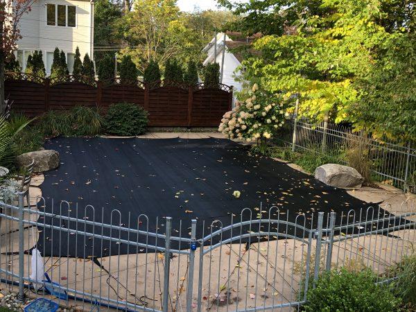 Filet à feuilles pour piscines creusées