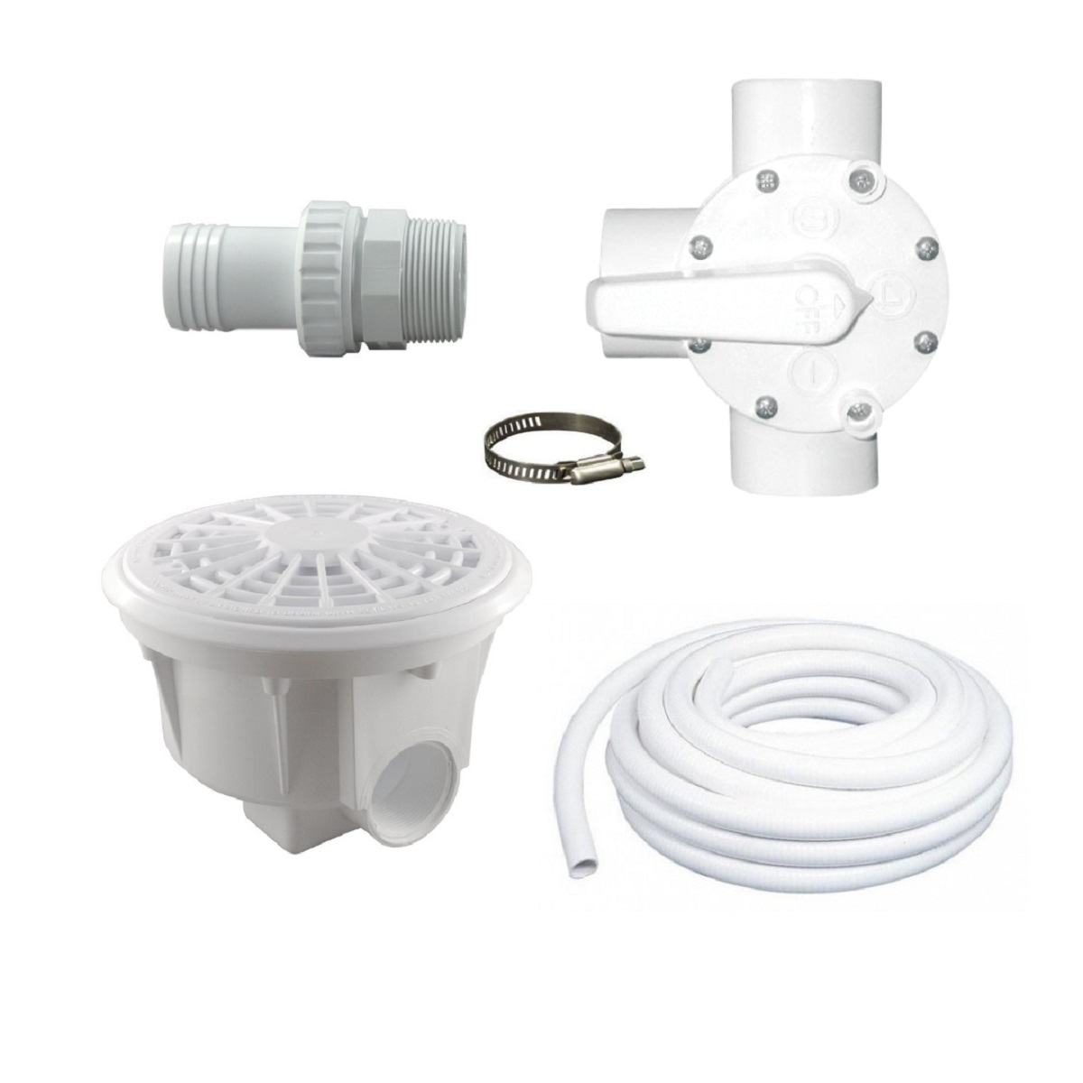 Kit de drain de fond pour piscine hors terre concept for Piscine design concept