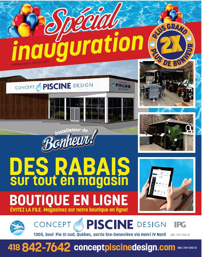 Accueil - Concept Piscine Design   Piscines, Spas, Gazebos et Patios ...