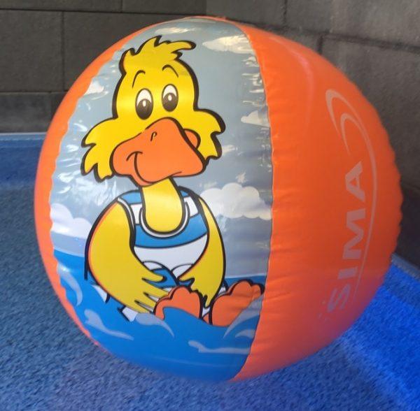 Ballon de plage canard