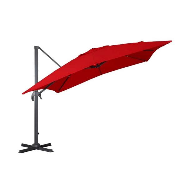 Parasol suspendu carré