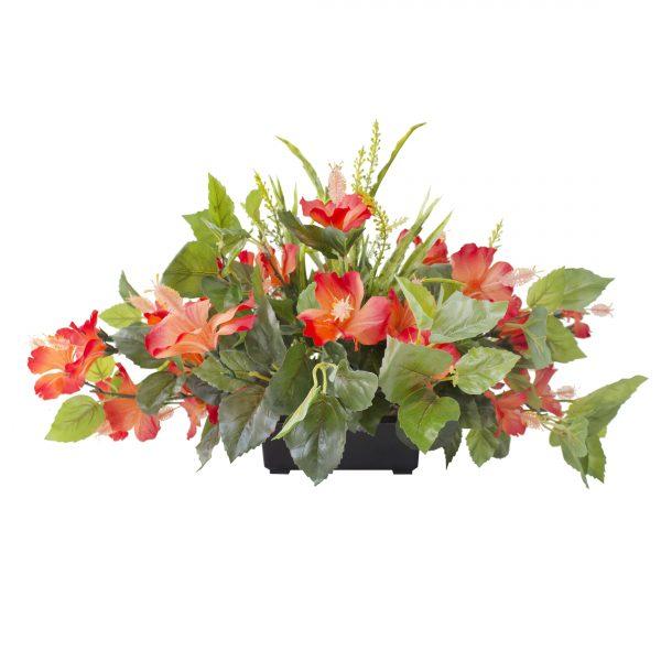 Centre_de_table-hibiscus-orange-decoration-exterieur-fausse_plante