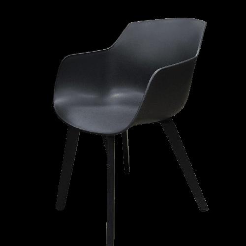 chaise de jardin noir