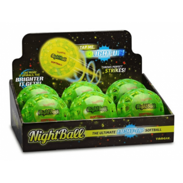 Balle de softball tangle nightball
