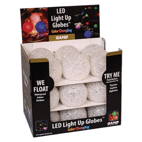 Globe-LED-paillette-flottant-accessoire-piscine