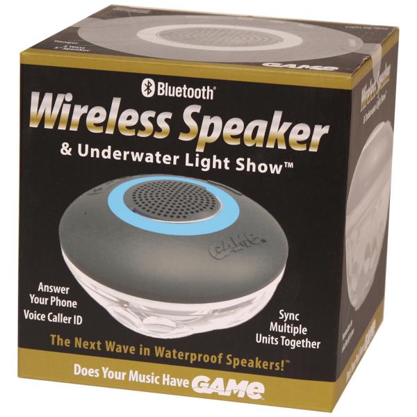 Haut-parleur Bluetooth et lumière sous-marine