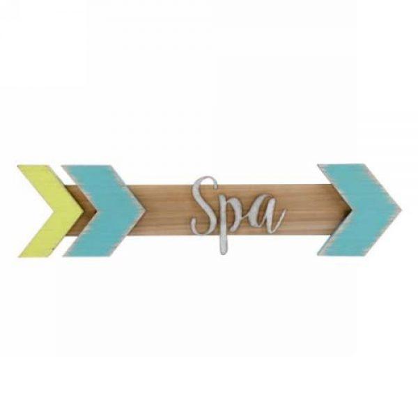 Plaque-murale-fleche-spa-decoration-exterieur