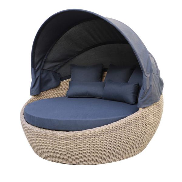 sofa rond pour le patio dans meuble de jardin