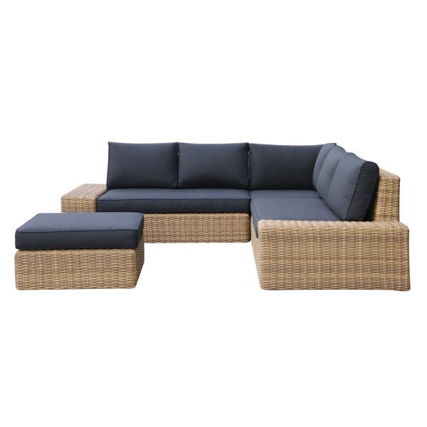 ensemble patio sectionnel tribordia dans meuble de jardin
