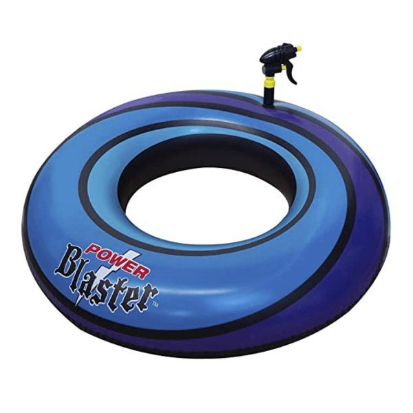 bouée_powerblast-bleu-jeu_piscine-jeu_flottant-pistolet_eau-concept_piscine_design