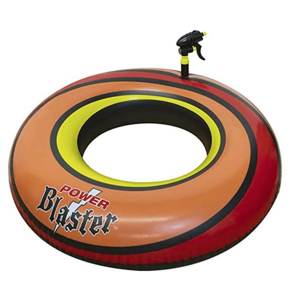 bouée_powerblast-orange-jeu_piscine-jeu_flottant-pistolet_eau-concept_piscine_design