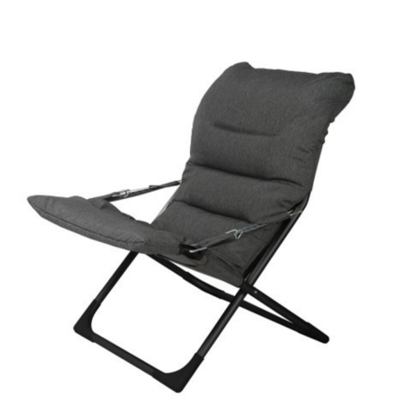 chaise_camping-astra-gris_fonce-chaise_pliante et chaise longue