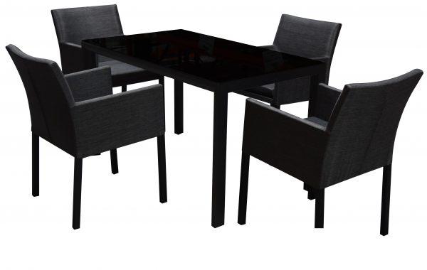 ensemble patio avec table et 4 chaises. Ensemble a diner antigua et renaissance